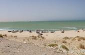 Oman, Asilah_ArabianSeeMotel_Kiter_Welle_Pano