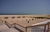 Oman, Al-Ashkharah_BeachResort_Meerblick