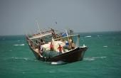 Oman, Masirah-Island Hilf_Fischerboot