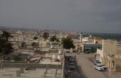 Oman, Masirah-Island Hilf_Town-Pano