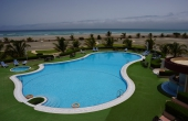 Oman, Masirah-Island-Resort_Hotelpool-Beach