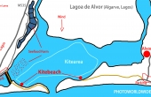Portugal_Lagos_Lagoa_Alvor_Kite_Map_Karte