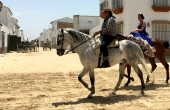Spanien_Andalusien_Rocio_Wallfahrt_Pfingsten_Pferde_Frau-Mann