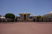 Oman-Muskat_Alt-Maskat_Al-Alam Palast SultanQabus