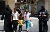 syrienpalmyraverschleiertefrauen