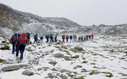 Food Explorer, Schüler Alpenüberquerung