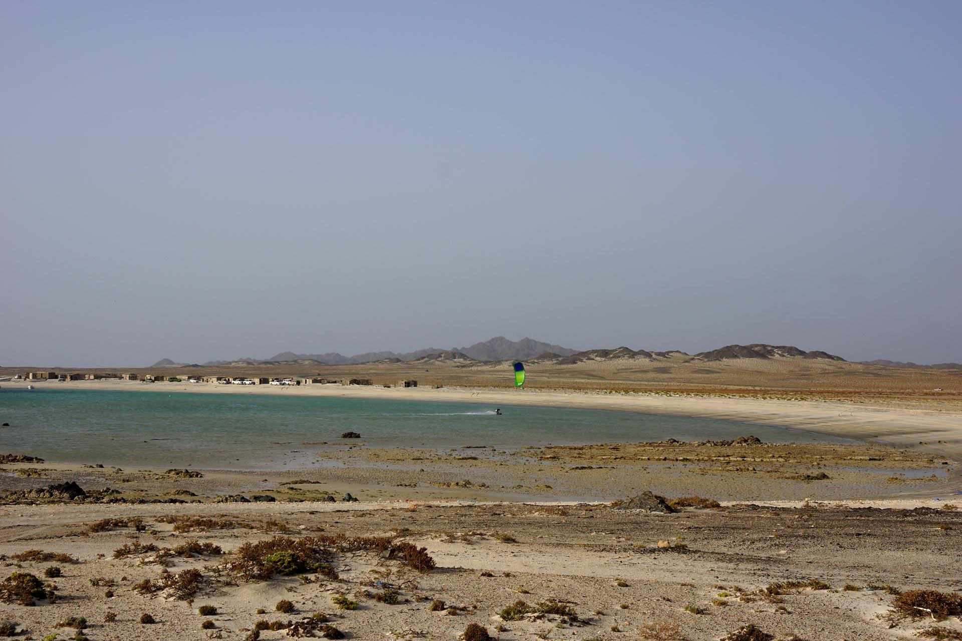 Oman, Masirah Gashar Shik_NordBucht_Kite