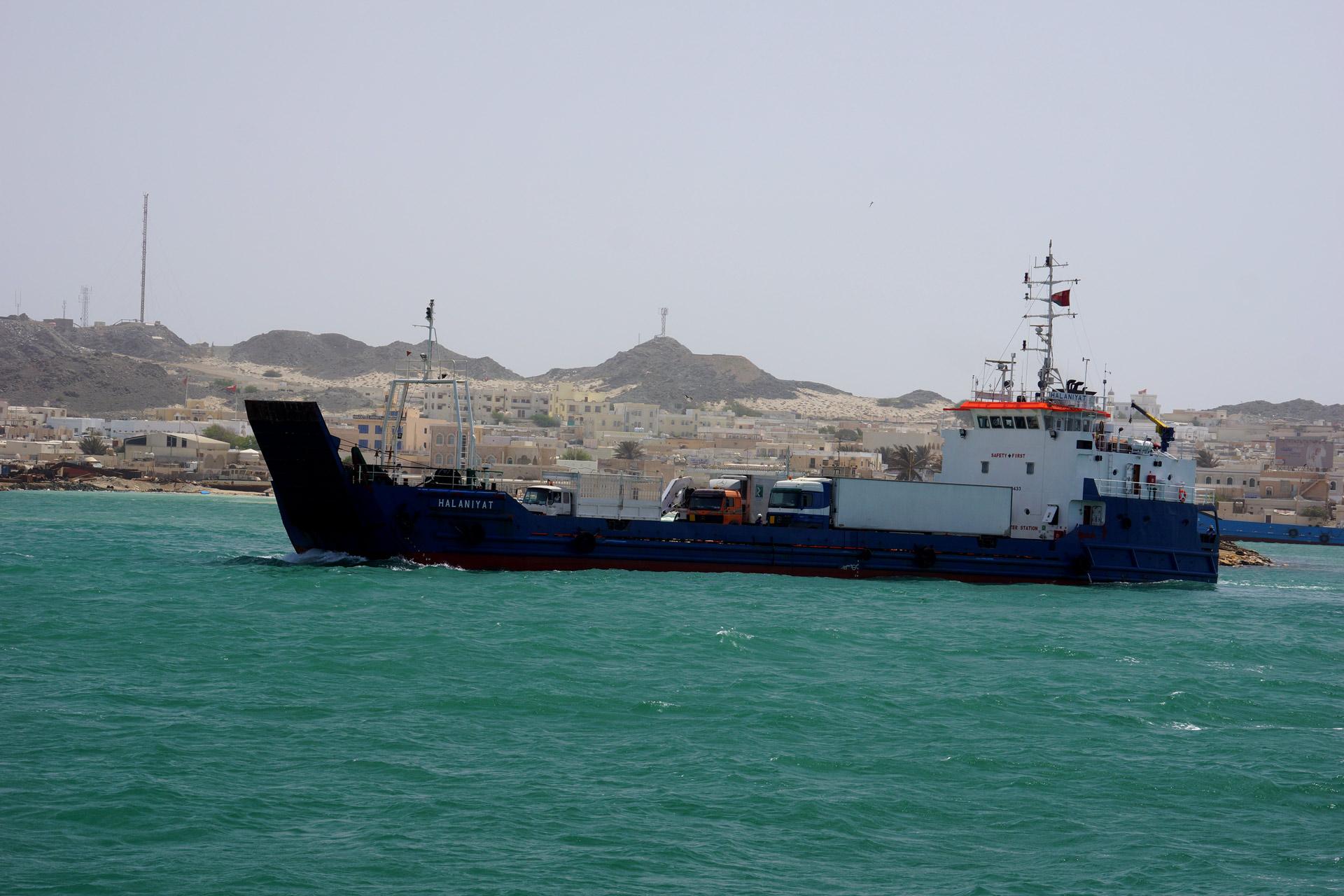 Oman, Masirah-Island Ferry
