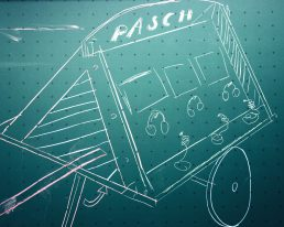 Wir bauen ein PASCH-VIDEO-MOBIL und präsentieren unsere weltweiten Schulpartnerschaften.