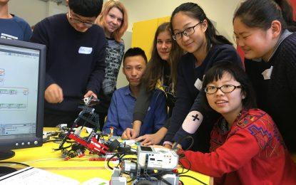 Öffentlichkeitsarbeit: Vollgas OHNEGAS – Robotik & Elektromotoren (2017)