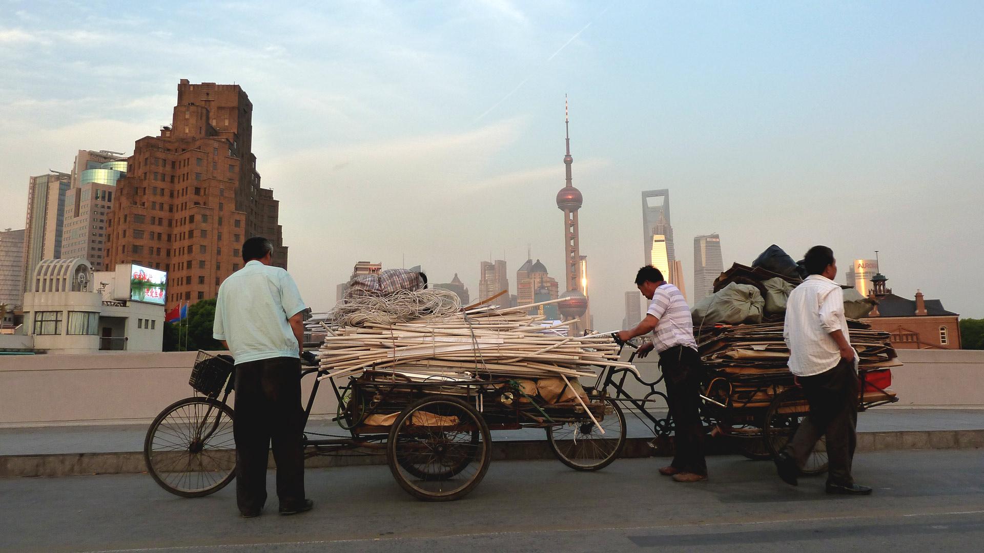Shanghai: Zukunft heute, in der schnellst wachsenden Volkswirtschaft der Welt