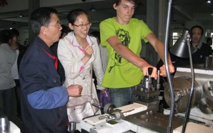 Öffentlichkeitsarbeit: Praktika & Betriebsbesichtigungen für Schüler aus Traunreut in Shenyang (2010)