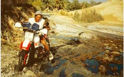 Oase Siwa: Tagebucheintrag eines Motarradfahrers, Mensch und Maschine gegen die größte Wüste der Welt