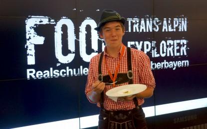 Öffentlichkeitsarbeit: Food Explorer – Alpenüberquerung (2014)