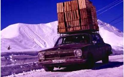 Transkaukasus Highway: Die kürzeste Landverbindung zwischen Russland und Georgien ist besonders im Winter ein Abenteuer