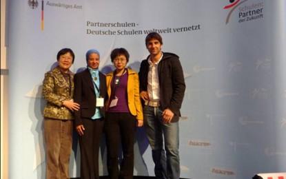 Öffentlichkeitsarbeit: Aufbau eines Netzwerkes mit Industriebetrieben und Schulen in China (2009)