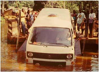 """Bissau: Tagebucheintrag in """"Russisch-Afrika"""". Mit dem VW-Bus von Bayern nach Ghana"""