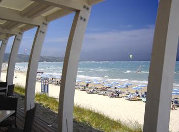 Kitespot GARGANO, Campingplatzbucht Santa Maria in Apulien (Vieste)