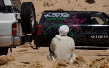 Westsahara, DAKHLA: Kite-Lagune PK 26/ Speedspot, Duna Blanca & Wellenspots Oumlabour und Point de l Or