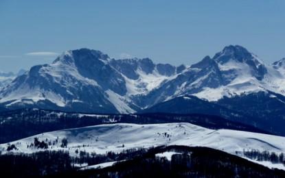 KOMOVI Gebirge, TRESNJEVIK Pass südlich Kolasin: Disneyland Gebirge für Spitzkehrenfreaks mit hochalpinem Anspruch (Revier 3)