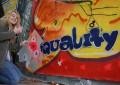 Öffentlichkeitsarbeit: Mit Graffiti Europa besser verstehen - Streetart bridges Europe (2013 - 2015)