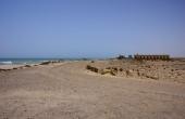 Oman, Asilah_ArabianSeeMotel_Zufahrt-Piste