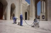 Oman-Muskat_Sultan-Qabus-Moschee_Gastarbeiter