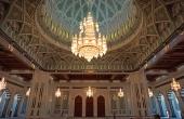 Oman-Muskat_Sultan-Qabus-Moschee_Kronleuchter