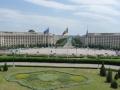 rumaniabukarestpalaststadtblick