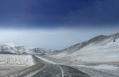 RealschuleTraunreut_Pasch-BerufUmwelt_Sibierien-Baikal-Landstrasse-Winter