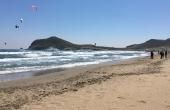 Spain, Almeria, San-Jose_Kite_LosGenoveses_Waves