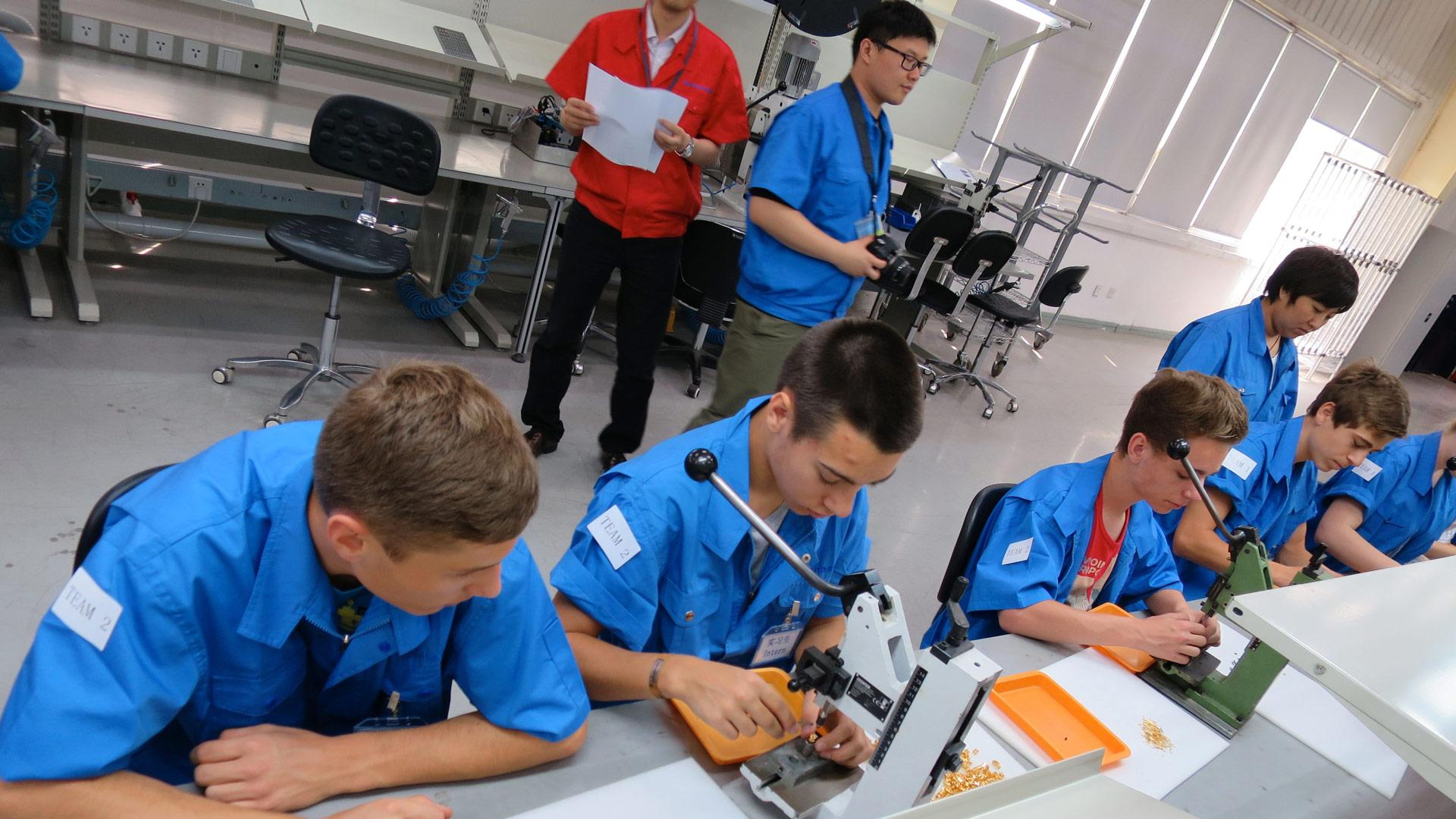 Schülerpraktikum in Peking – Workshop Umweltschutz in Industrieunternehmen in Nanjing