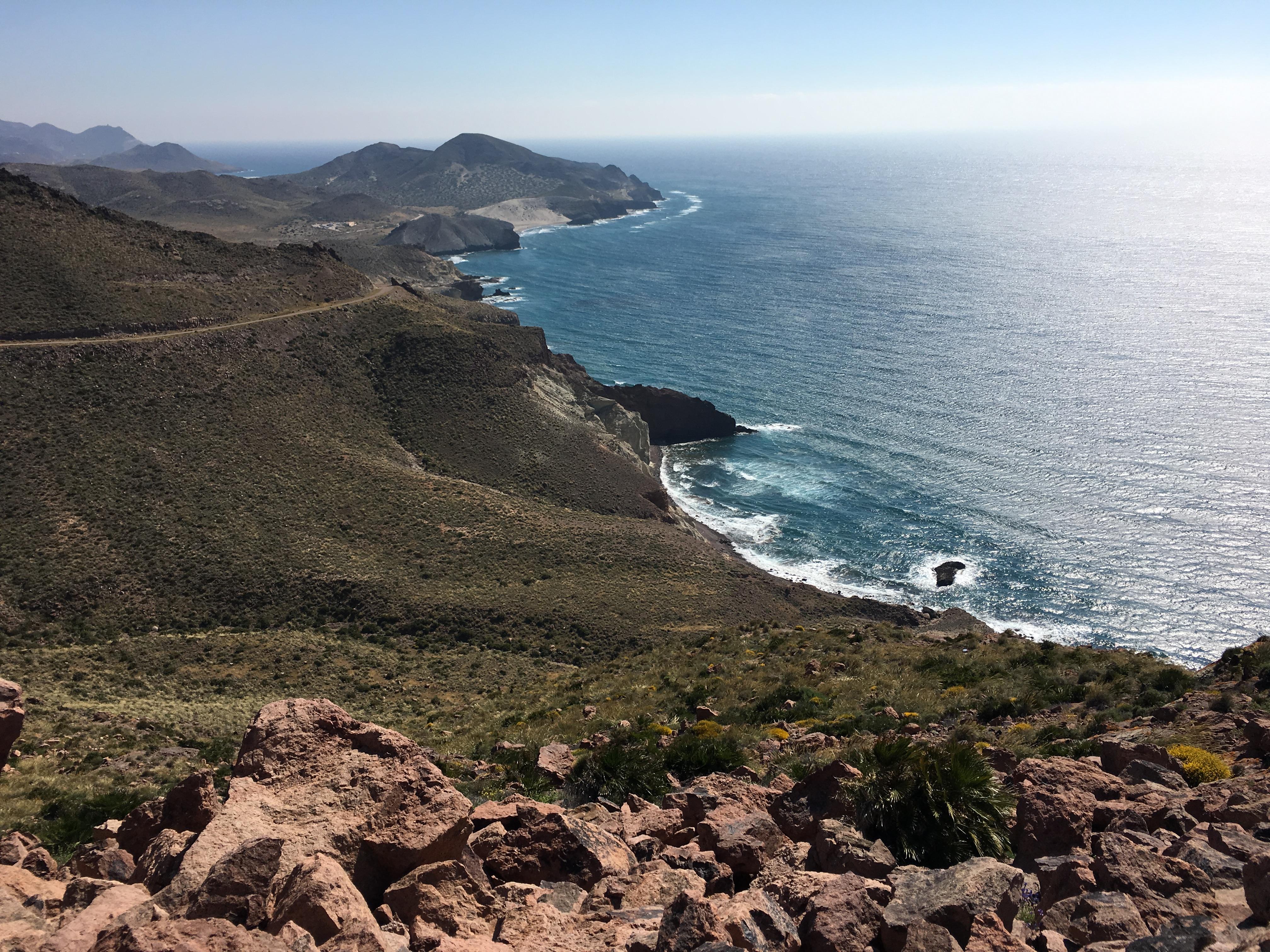Andalusien, SAN JOSE: Los Genoveses – Kite Oase bei Ostwind (Mittelmeer)