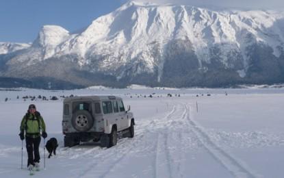BLIDINJE, DUGO POLJE: Skitouren & Skilifte in einem wahrscheinlich minenfreien Gebirge