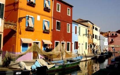 Venedig, Insel Burano: Traditionell und bunt