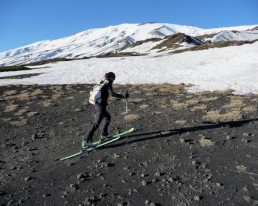 SIZILIEN ÄTNA: Abgefahrene Skitour auf aktivem Vulkan (3300 m)