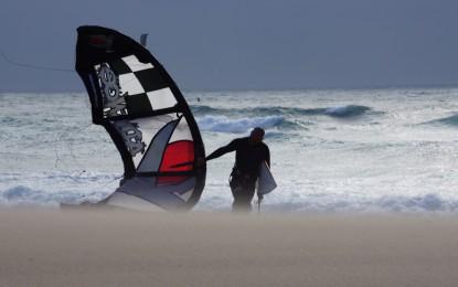 Lissabon, GUINCHO, Großstadtrevier für Kitesurfer