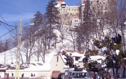 Transsilvanien, Bran: Schloss Dracula