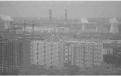 Moskau: Die Geschichte des russischen Plattenbaus im Smog von Kohlekraftwerken