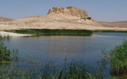 Qala at an-Nadjim, Qala at Djabr, Ar-Rusafa: Syrische Wüstensteppe am Euphrat