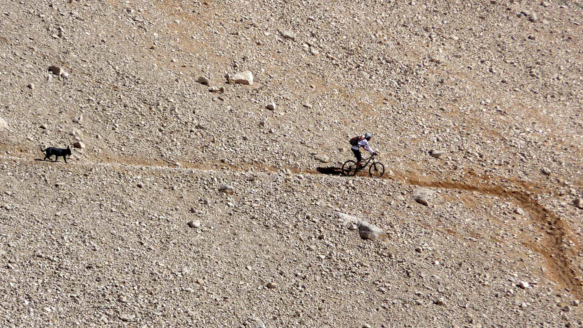 HOHER TAURUS, Nigde/ ALADAGLAR: Trecking bergauf kombiniert mit heftigem Downhill